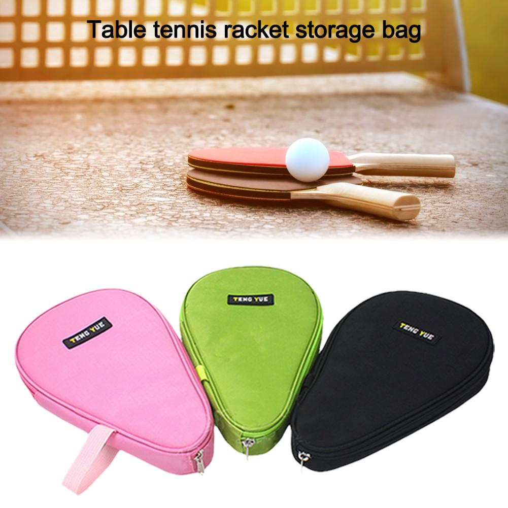 Table Tennis Racket Gourd Racquet Bag Storage Case  Training Professiinal Ping Pong Bat Cover Pingpong Paddle Racket Bat Bag 4