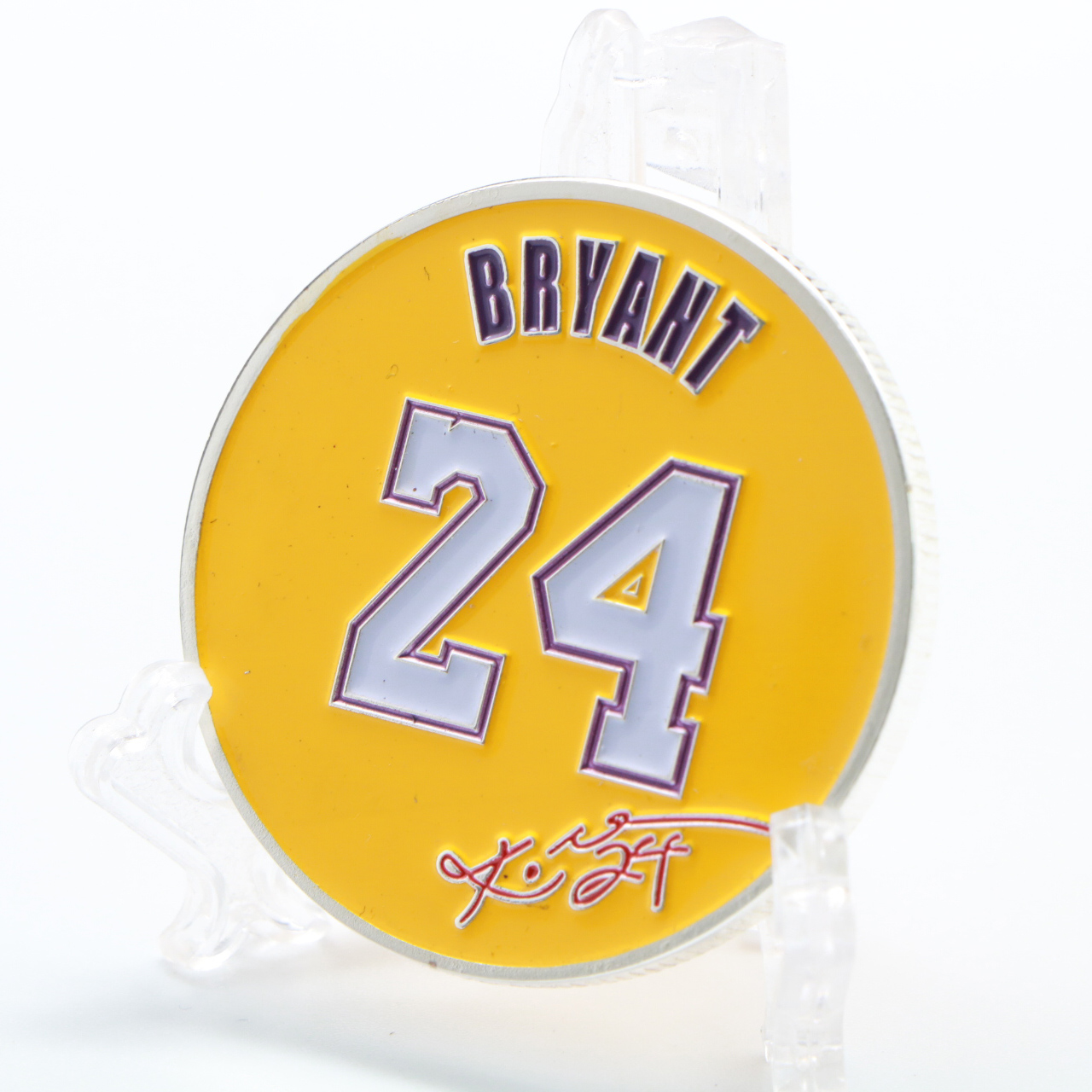 Kobe Bean Bryant Coin Collectibles Silver Gold Plated Metal Coins Home Decor For Collection Souvenir Gifts