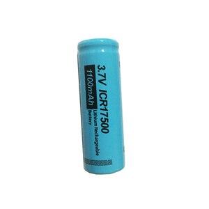 Image 3 - 4 PKCELL ICR17500 Pin 1100MAh 3.7V Li ion Sạc Pin Lithium Cho Đèn Pin Lược Điện Máy Cạo Râu