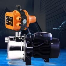 Controlador de presión de bomba de agua, interruptor electrónico automático con medidor de presión, impermeable, ajustable, IP65, 10A, 220V-240VAC
