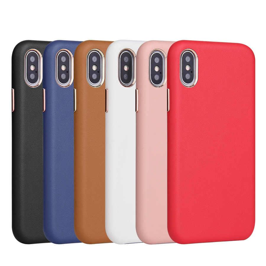 อย่างเป็นทางการสไตล์ PU หนังโทรศัพท์กรณีสำหรับ IPhone ของ Apple IPhone 11 PRO MAX 2019 ใหม่ XS XR X 8 7 6 6S PLUS 11pro Xsmax