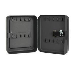 Image 4 - 홈 조합 잠금 키 안전 상자 주최자 잠글 수있는 암호 벽 마운트 사무실 자동차 재설정 가능한 코드 금속 보안