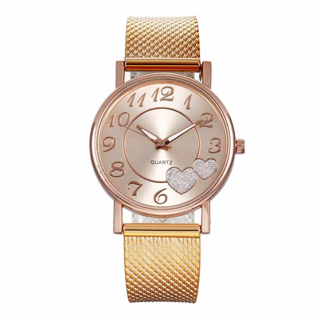 Son Top moda kadın file sutyen kemer izle vahşi bayan yaratıcı moda hediye kol saati bilezik saatler kadın saatler 717