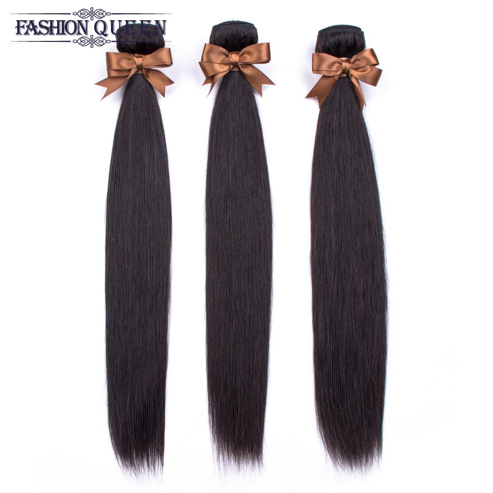 H4184c6c5fbd142a29414a6526ccdc80aR Brazilian Straight Hair Lace Frontal With Hair Weave Bundles Human Hair Extension Bundles With Frontal Non Remy Fashion Queen