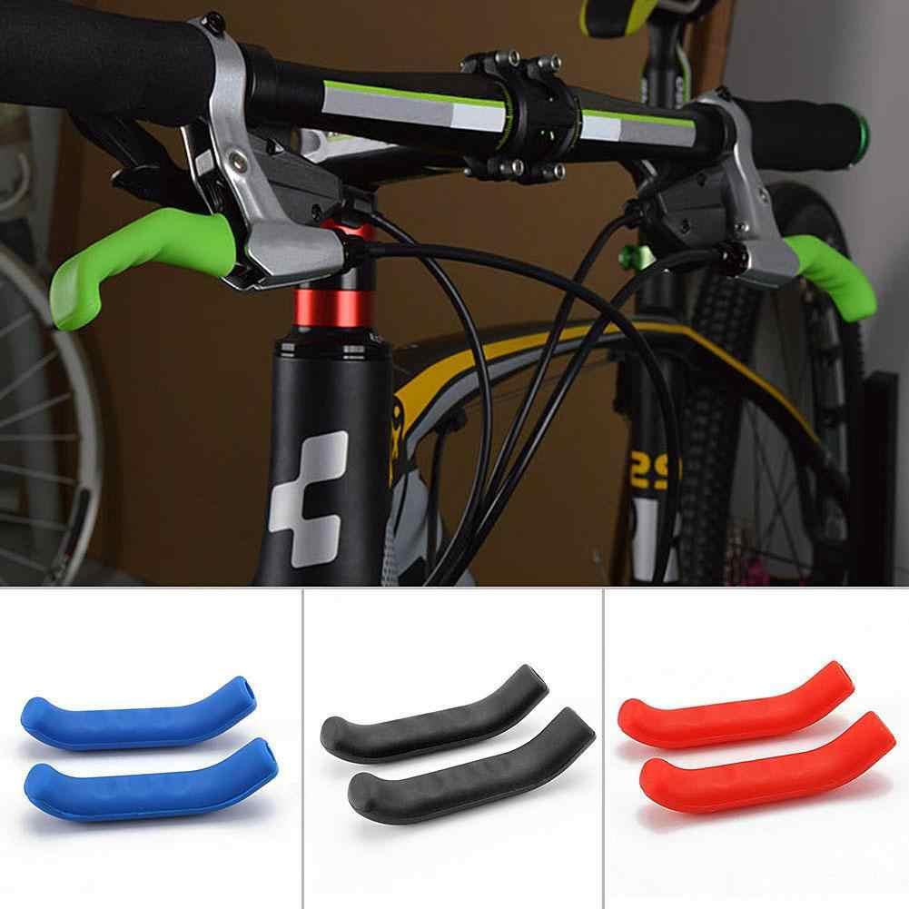 Mountain Bike Lever Cover Handlebar Grip Brake Silicone Protector Practical
