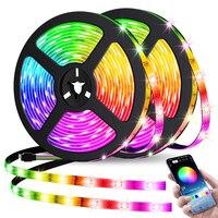 LED Streifen Lichter Bluetooth Steuer 5V RGB 2835 USB Flexible Lampe Band Band Diode Für Festival Schlafzimmer Luces TV schreibtisch Dekor Luz