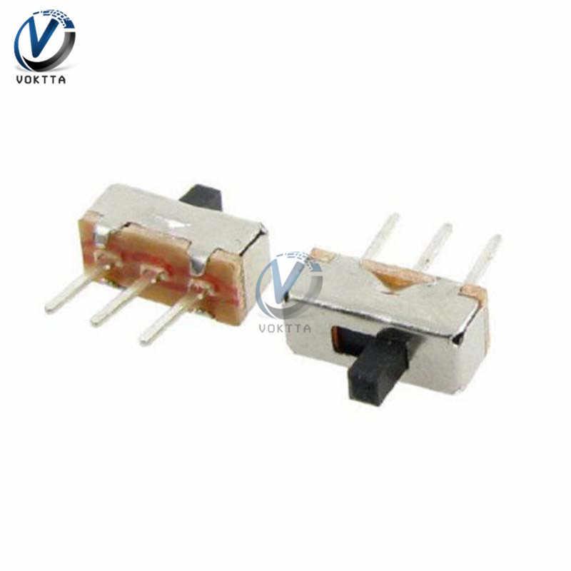 20 pièces Mini SS12D00G3 interrupteur interrupteur marche-arrêt Position 3 broches interrupteur à bascule universel interrupteur à glissière pour SMD PCB DPDT