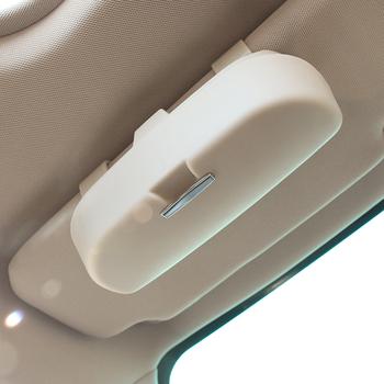 Podkładki pod szklanki osłona przeciwsłoneczna do samochodu etui na okulary do KIA K2 K3 K4 K5 Rio QL Ceed Sorento Cerato Sportage tanie i dobre opinie Car Glasses case 0 15kg 11 5cm 9 5cm 17 5cm Plastic