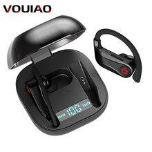 Wireless Ear Hook HBQ-Q62 TWS Wireless Bluetooth Earphones WIth Dual M