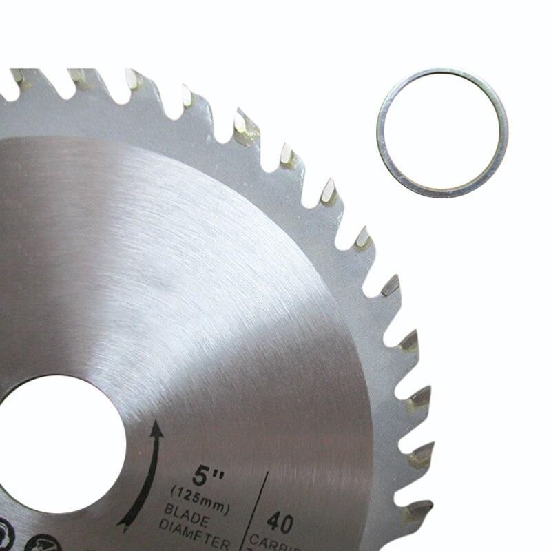 40 Teeth 5 Inches Carbide Circular Saw Blade Cut Off Disc For Wood Cutting