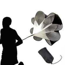 цены на 56 inch Speed Training Resistance Parachute Umbrella Running Chute Power Fitness Explosive Power Soccer Football Sport Training  в интернет-магазинах