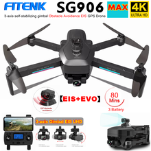 SG906 MAX SG906MAX PRO2 GPS Drone mit 4K HD Kamera Hindernis Vermeidung 3 Achsen Gimbal 5G WiFi FPV professionelle RC Quadcopter Eders