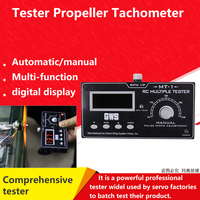 GWS MT 01 High End Model Multiple Tester Servo Tester ESC Tester Transmitter Receiver Tester Propeller Speed Tester