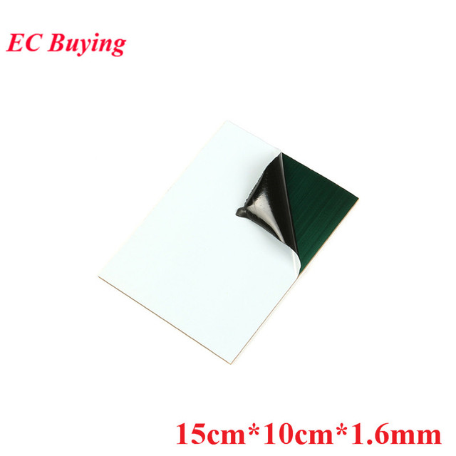 5pcs Kinsten PP 1510 1015 Positive Acting Presensitized PCB Board 15cmx10cmx1.6mm Single Side Plate Photosensitive DIY Test Boar