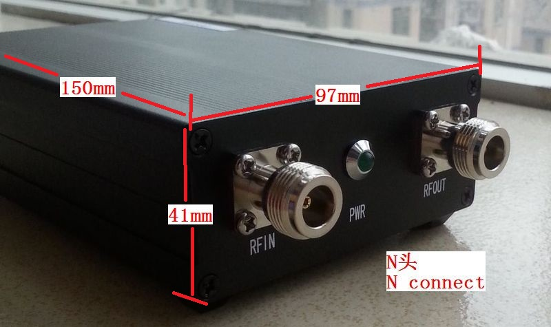 Made by BG7TBL <font><b>NWT500</b></font>-N Connector Frequency Sweep <font><b>Analyzer</b></font> Amplitude Frequency Meter DC12V 50K to 550M USB Interface WinNWT4 image