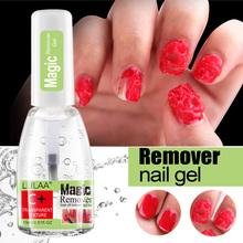 Gel Polish Remover Permanent Enamel Cleaner Nail Uv Liquid For Removing Sticky Layer Removal Wraps