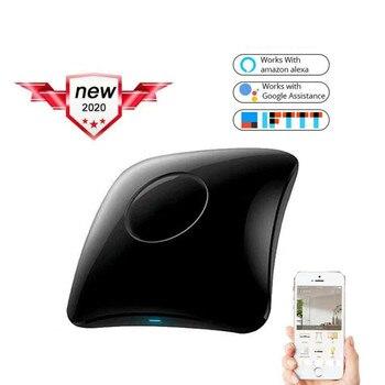 цена на 2020 Broadlink RM4 pro RM4C Mini Smart Home WiFi IR RF Remote Controller Automation Modules work with Alexa amazon Google Home