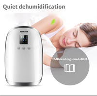 C,110W 1700ML Automatic Defrost Dehumidifier Air Dryer Home Bathroom Office Absorbing LED Display Timing Anion Purifier