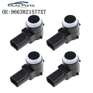 Image 1 - PDC sensörü için Peugeot 307 308 407 Rcz ortağı Citroen C4 C5 C6 PSA966382157/6590 a5 9663821577XT PSA 9663821577 9663821577XT