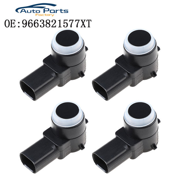PDC sensörü için Peugeot 307 308 407 Rcz ortağı Citroen C4 C5 C6 PSA966382157/6590 a5 9663821577XT PSA 9663821577 9663821577XT