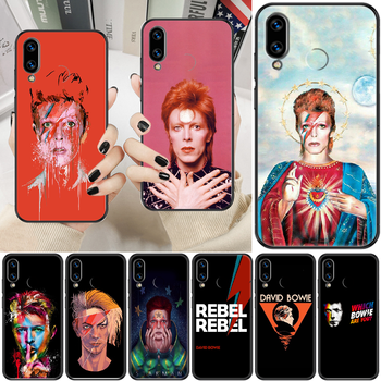 Rock David Bowie Phone case For Huawei Honor 6 7 8 9 10 10i 20 A C X Lite Pro Play black luxury cover fashion waterproof image