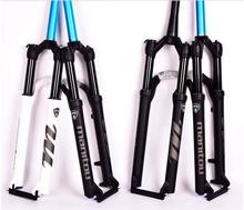 лучшая цена Bicycle Fork Manitou MARKHOR Bike Fork 26 27.5inch 29er Mountain MTB Bicycle Fork suspension Oil and Gas Fork remote lock