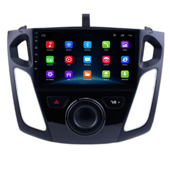 2020 9 Inch Car Android 10 GPS Navigation Plyaer for Ford Focus 3 Mk 3 2011 2012 2013-2015 Auto Multimedia Radio Video Player image