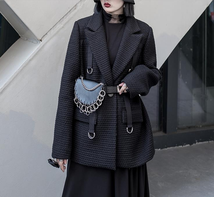 Image 2 - Pu Leather Woman Belt Chain Single Shoulder Bag Female Girdle Fashion Accessories Multifunction UseWomens Belts   -