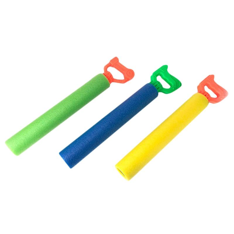 Pull-Type Eva Straight  Sponge Water Jet Toy Children Beach Drifting Toy