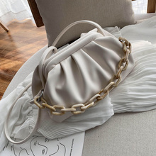 Candy Color PU Leather Shoulder Messenger Bags For Women 2020 Small Crossbody Bag Travel Chain Handbags and Purses
