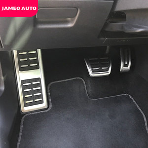 Jameo Auto Car Sport Fuel Brake Pedal Cover Restfood Pedals for Seat Leon 5F MK3 for Skoda Octavia 5E MK3 A7 RS 2013-2020 Parts(China)
