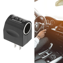 1 Pcs Car Cigarette Lighter Power Converter AC 110V-240V To DC 12V For Charger Or Plug-In Auto Accessories