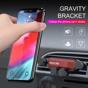 Image 2 - Oto araba kaymaz Mat yerçekimi telefon araba için araç tutucu hava firar sabitleme kıskacı cep telefon tutucu GPS standı araba aksesuarları TSLM2
