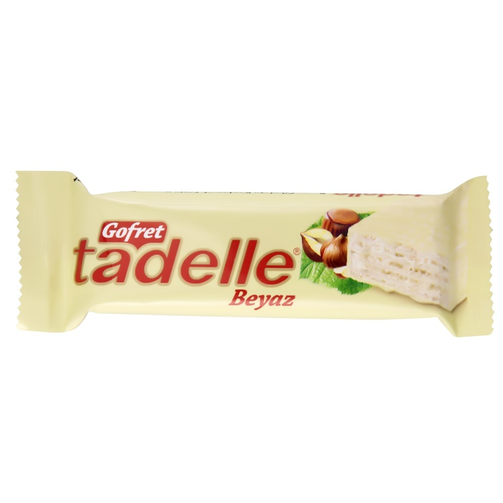 Sagra Chocolate Xmas Gift Halal Tadelle Wafer White Chocolate 35 Gr (24 Piece)