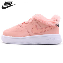 Original New Arrival NIKE FORCE 1 '18 VDAY(TD) Kids shoes Children Sneakers