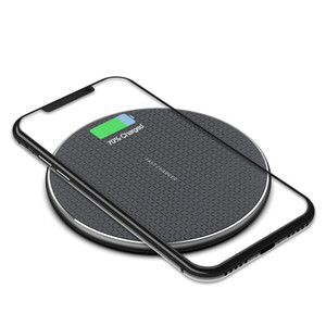 Image 2 - 10W Induction Charger Fast Qi Wireless Charger Pad Without Wired Charging Mat For Xiaomi Mi9 t Samsung S10 iPhone 11 Huawei P30
