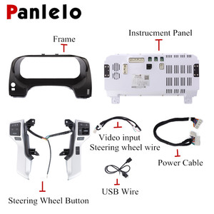 Image 5 - Panlelo Instrument Panel Replacement Dashboard 12.3 inch Navigator with Full Liquid Crystal Instrument for Toyota Prado SWC