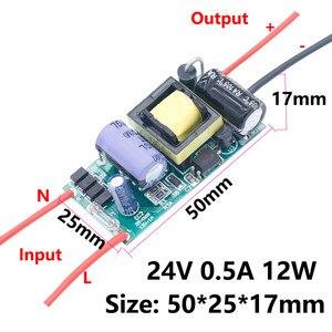 Image 2 - HA CONDOTTO il Driver 220V a DC12V 1A Luce 24V 6W 12W 24W 36W 60W per 24V 1A 1.5A HA CONDOTTO di Alimentazione 12 V Trasformatori di Luce 12 Volt Per LED