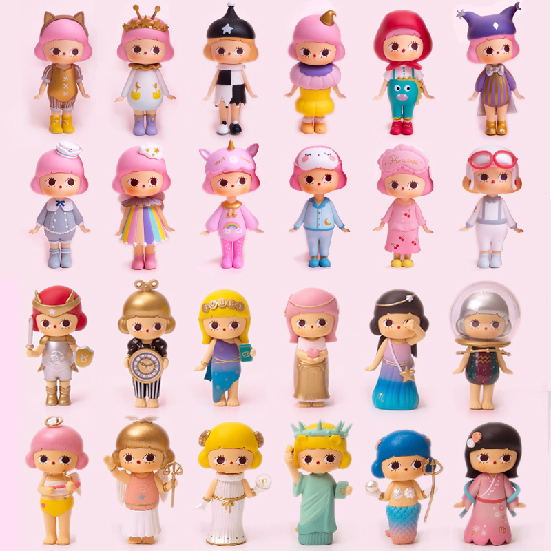 12 Styles Blind-Box Mystery Unknown Box Random Doll Action Cute Girl Child Toy Mobile Phone Case Decoration New Home Decoration