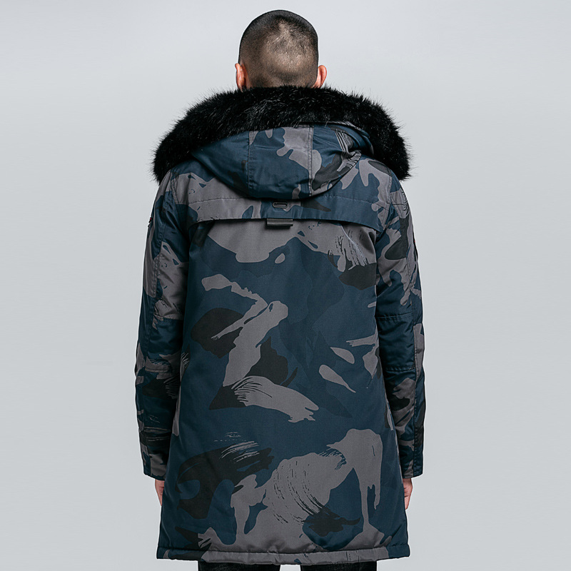 BOLUBAO Brand Men Winter Camouflage Jacket Coats 2020 Male Casual Thicken Parka Men's Fashion Long Section Warm Parkas 2