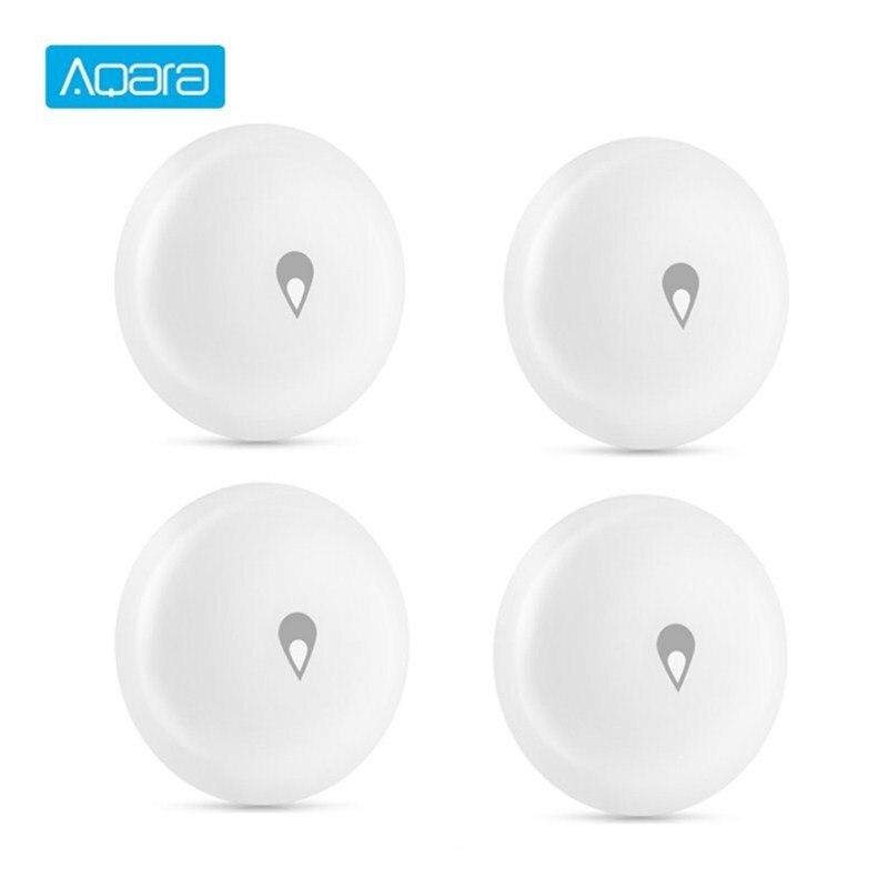 Sensor de agua inteligente para casa Aqara IP67, dispositivo inteligente impermeable, monitoreo de inmersión, alarma remota, trabajo de seguridad con Mi hogar