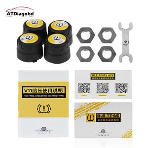Pressure-Sensor Universal External-Tyre TPMS Android Bluetooth-4.0 Wireless Phone