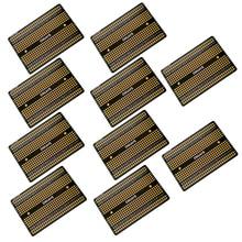 10 шт. двухразмерная сварочная макетная плата PCB универсальная печатная плата прототип печатной платы