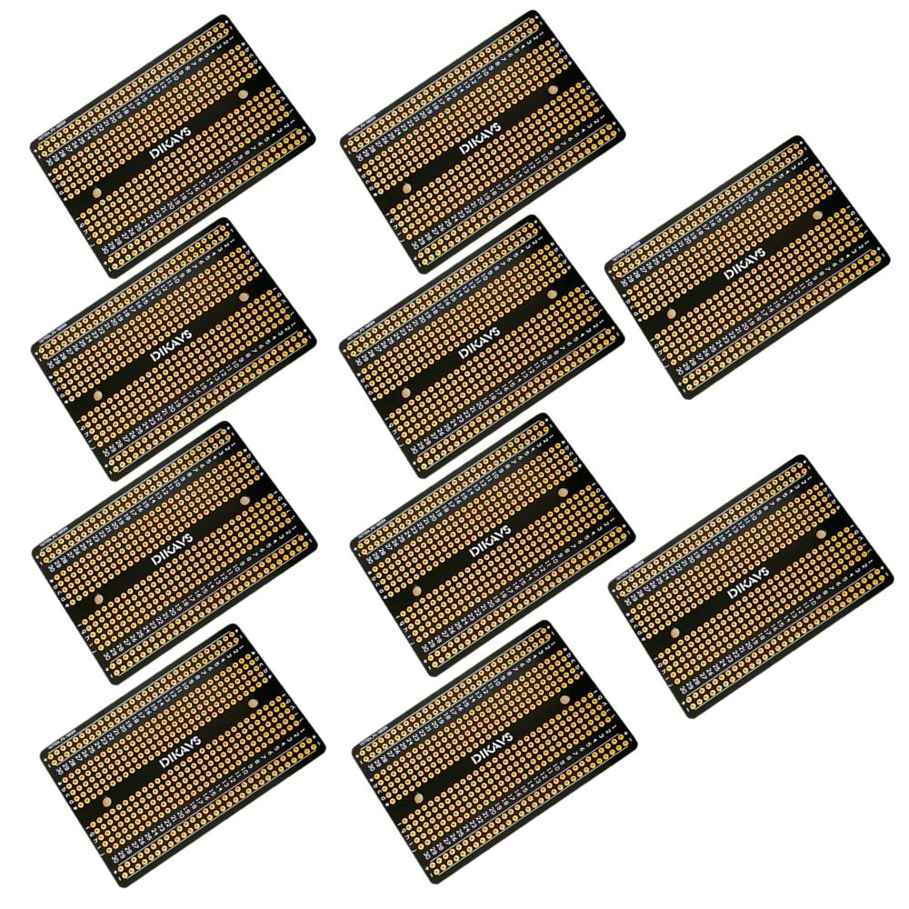 10PCS Double-sized Welding Breadboard PCB Universal Printed Circuit Board  Pcb Board  Prototype Pcb