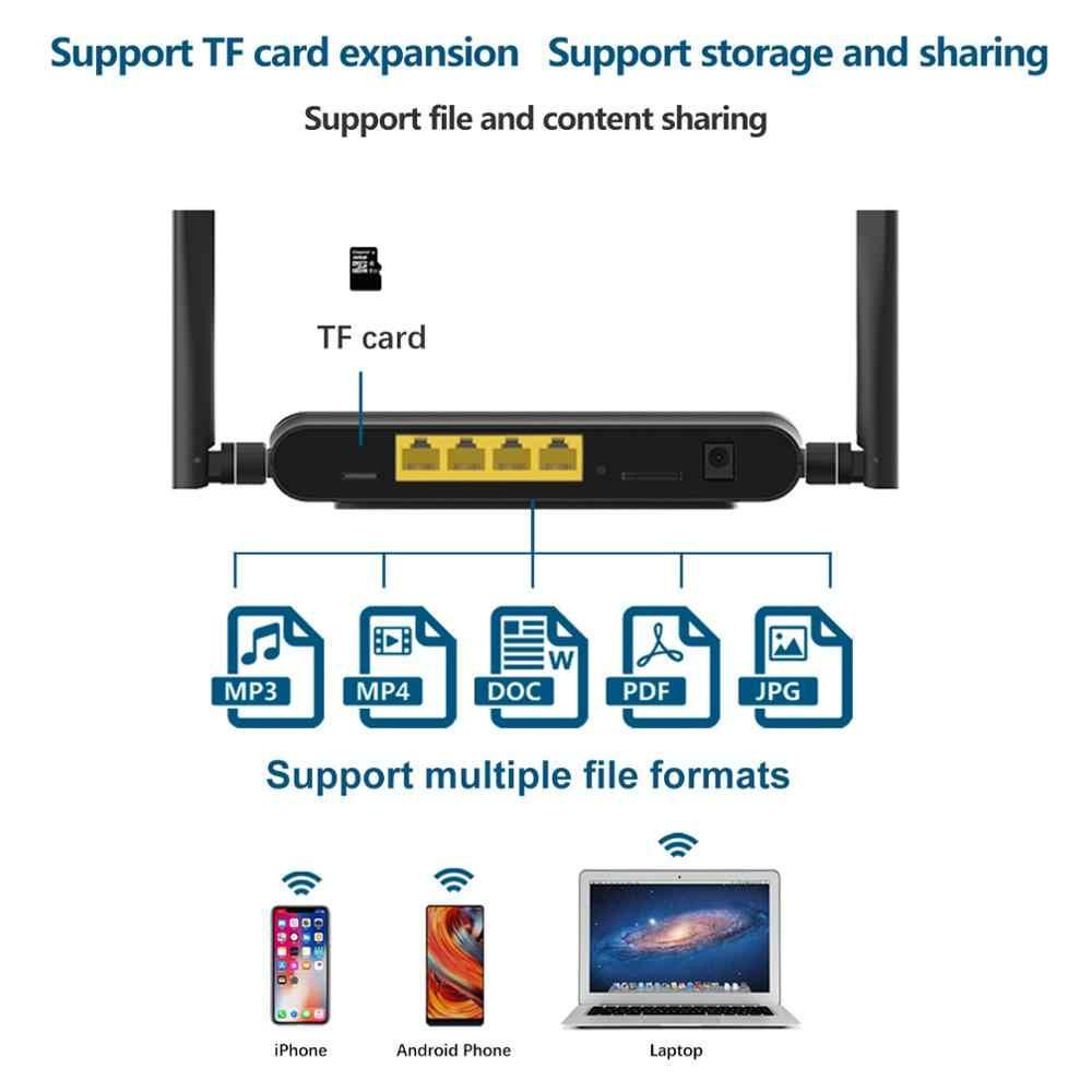 4G واي فاي راوتر أفريقيا 4 منافذ جهاز توجيه ببطاقة SIM USB WAP2 802.11n/b/g 300Mbps 2.4G راوتر LAN WAN 10/100M PCI-E راوتر لاسلكي