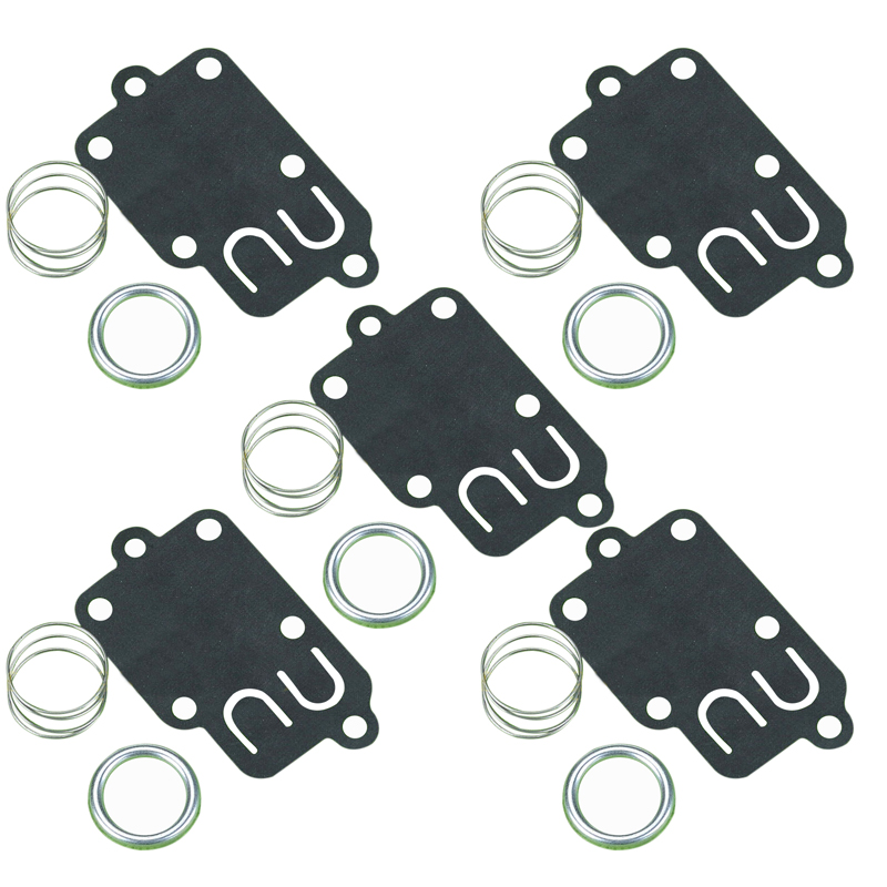 Pump Carburetor Diaphragm Accessory Outdoor For Briggs Stratton 270026 5021 Kit 5 Set Lawn Mower Parts