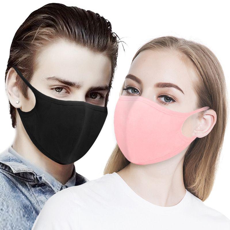 10Pcs Cotton Mouth Mask Anti Dust Pollution Washable PM2.5 Face Mask Reusable