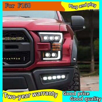 Car Styling Headlight For Ford F150 Headlights 2015 2016 2017 Raptor Head Lamp LED DRL+HighBeam+LowBeam+Turn Signal Light
