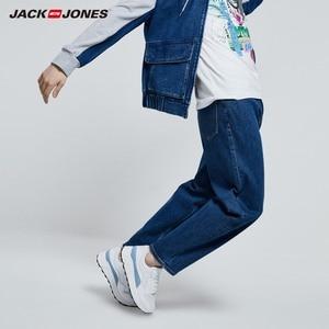 Image 2 - JackJones hommes Style Hiphop Denim pantalon mode coupe ample jean JackJones homme vêtements 219332535