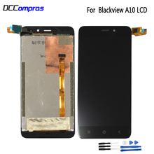 Original For Blackview A10 LCD Display Touch Screen Assembly Repair Parts For Blackview A10 Screen LCD Display Phone Parts black for blackview a8 max lcd display